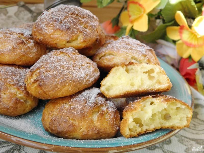 Вкусное печенье из творога рецепт с фото