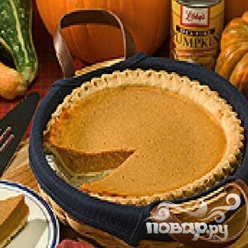 Пирог тыквенный - пошаговый рецепт с фото на