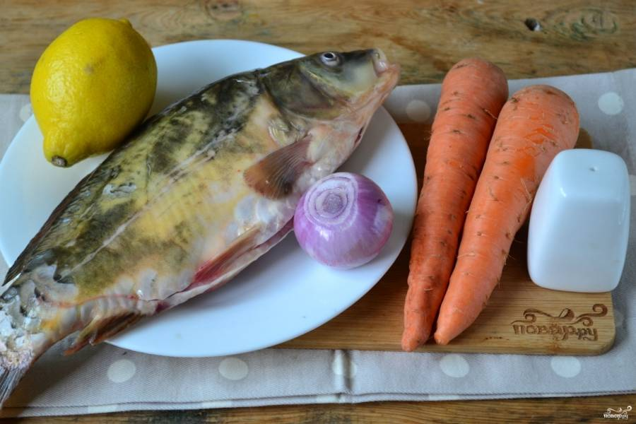 Сазан с овощами - пошаговый рецепт с фото на