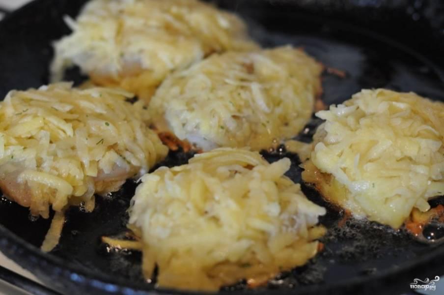 Рыба в картофельной корочке - пошаговый рецепт