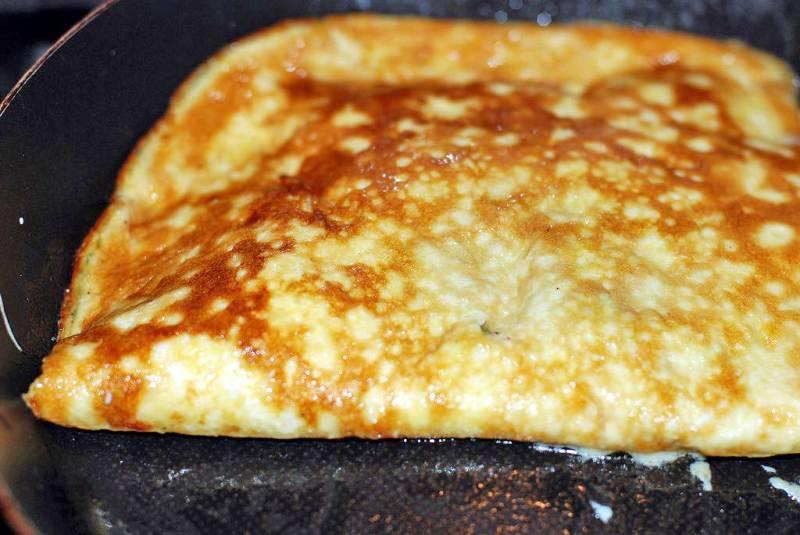 Омлет с помидорами и сыром - пошаговый рецепт с фото на
