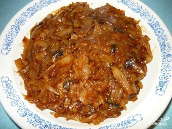 солянка с грибами и капустой рецепт в мультиварке