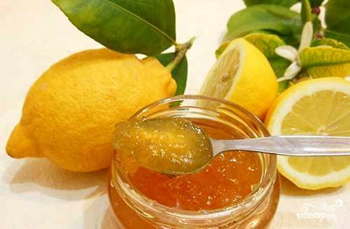Варенье из лимонов с кожурой