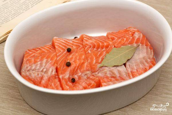 Семга в сливочном соусе - пошаговый рецепт с фото на