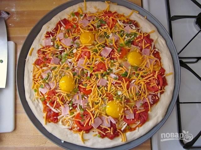 Пицца к завтраку - пошаговый рецепт