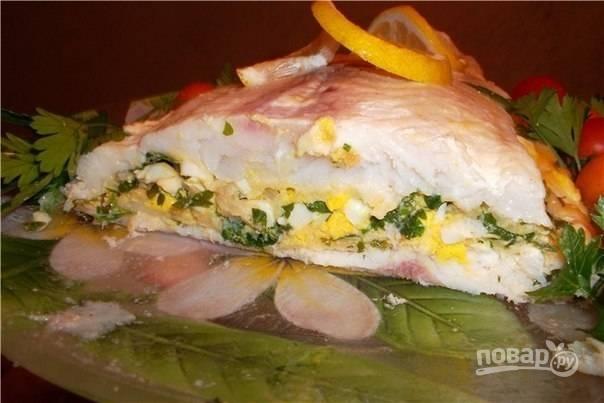 Рыбка с сюрпризом - пошаговый рецепт