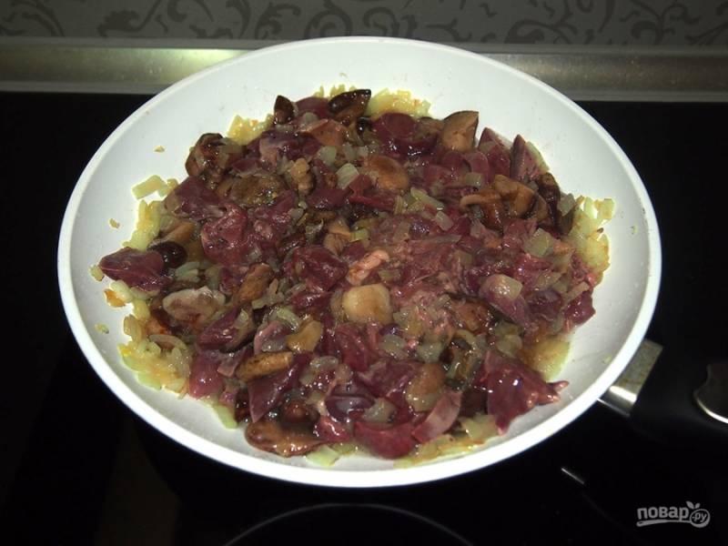 Гусь с гречкой, грибами и печенью в рукаве - пошаговый рецепт