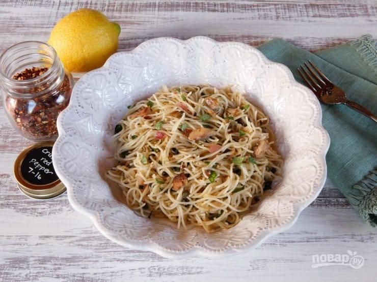 Паста с сардинами - пошаговый рецепт с фото на