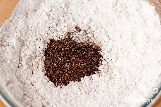 Печенье с чаем и пряностями - пошаговый рецепт