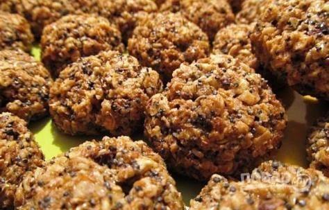 Печенье с отрубями - пошаговый рецепт