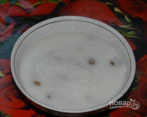Манная каша без молока