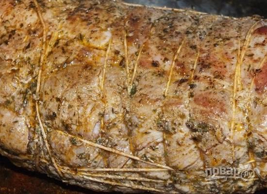 Свиная шея, запеченная в духовке - пошаговый рецепт с фото на