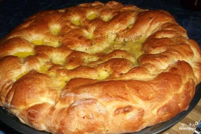 Пирог с вареньем на масле в духовке пошаговый рецепт с