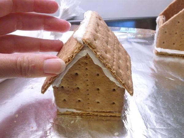 Как сделать торт домик из печенья - Rusakov.ru