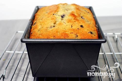 Лимонный кекс с черникой - пошаговый рецепт с фото на