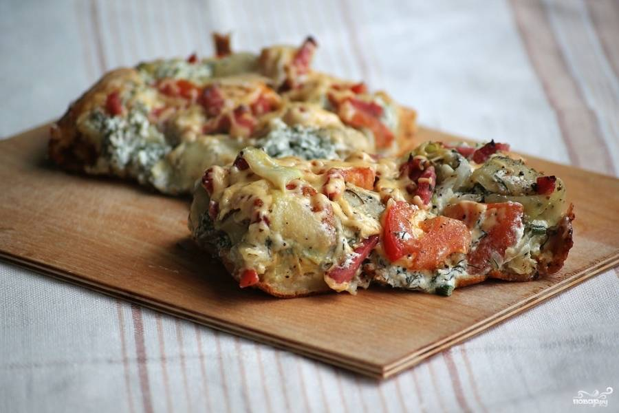 Тарт фламбе - пошаговый рецепт с фото на