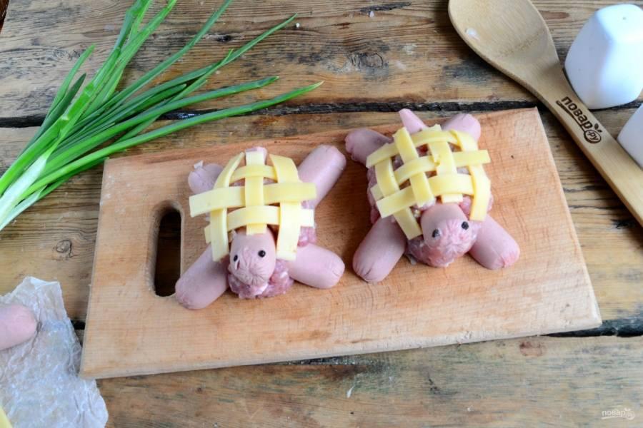 Котлетки - Черепашки - пошаговый рецепт с фото на