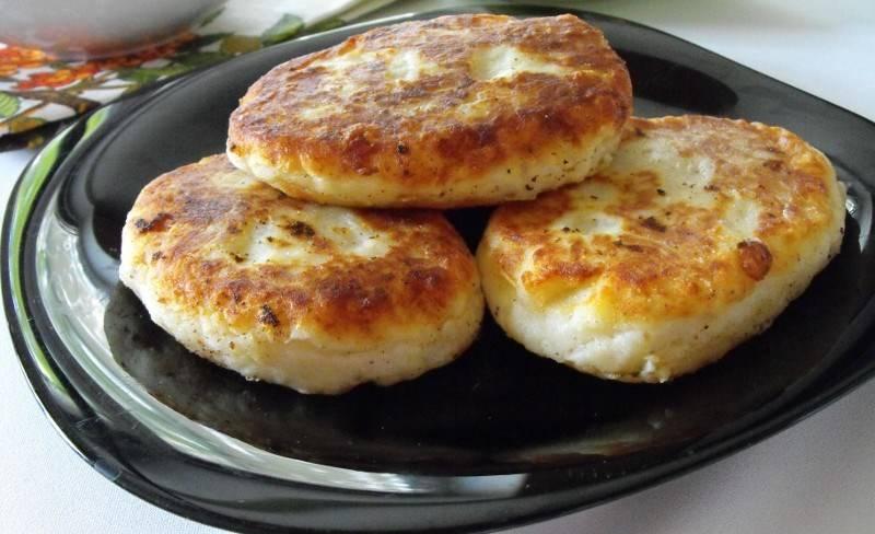 картофельные котлеты с мясом рецепт с фото