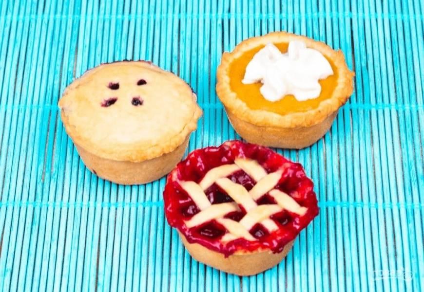 Мини-пироги (3 начинки)