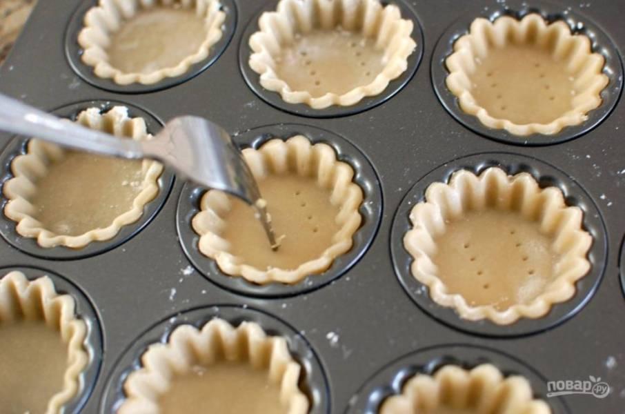 Тарталетки для закусок - пошаговый рецепт с фото на