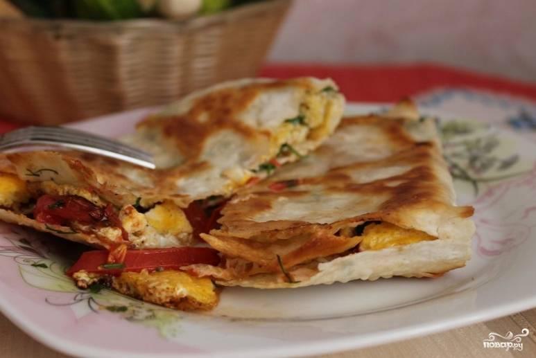 Жареные конвертики из лаваша - пошаговый рецепт с фото на