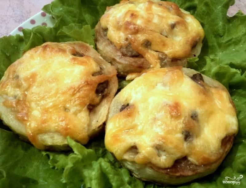 Кабачки грибы мясо рецепт