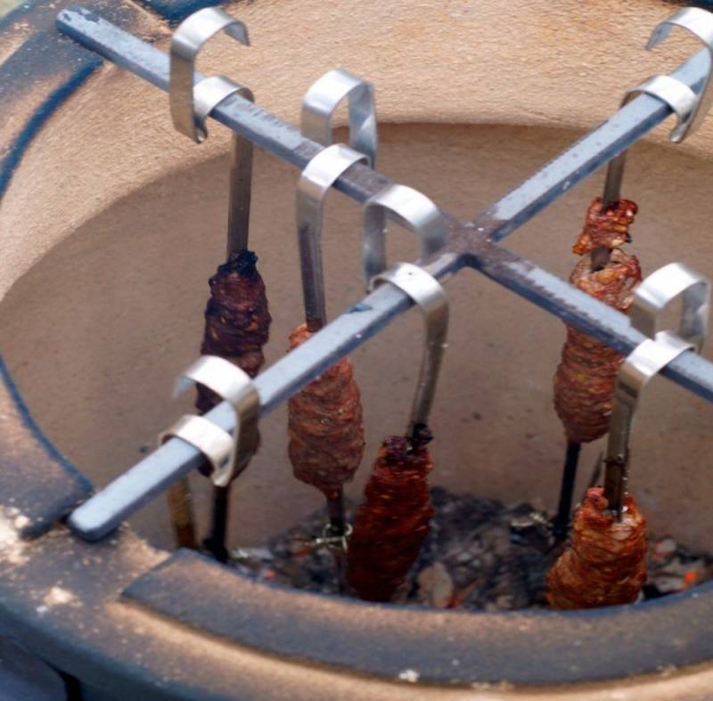 Люля-кебаб в тандыре - пошаговый рецепт