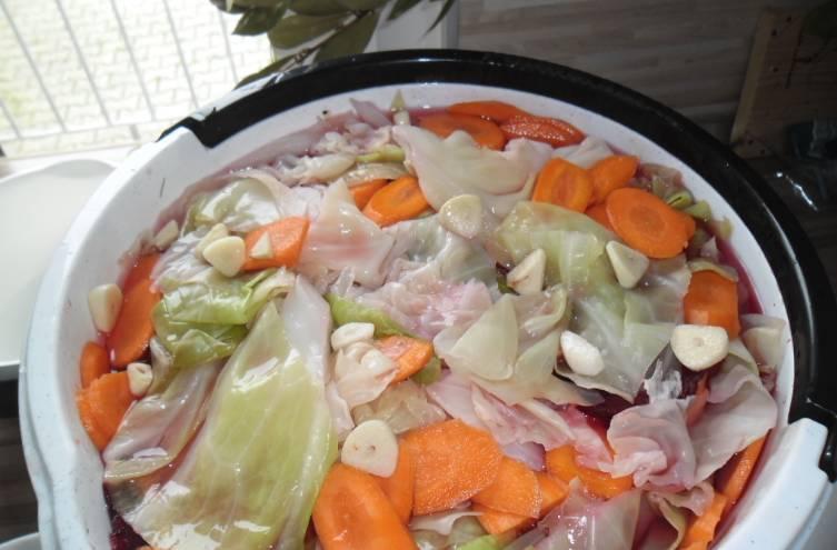 Гурийская капуста со свеклой - пошаговый рецепт с фото на