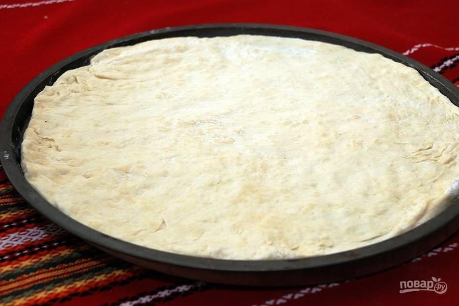 Самое простое тесто для пиццы на дрожжах