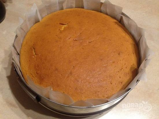 Тыквенный торт со взбитыми сливками - пошаговый рецепт с фото на