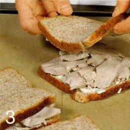 Куриный сандвич с кресс-салатом - пошаговый рецепт