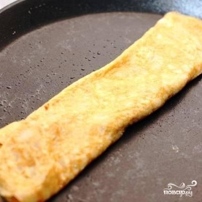 Японский омлет с соевым соусом - пошаговый рецепт