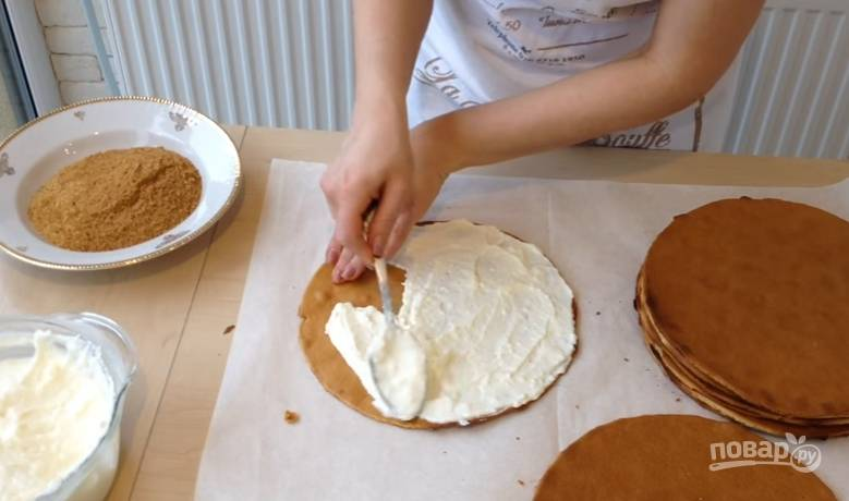 Торт - Медовик - (Рыжик) - пошаговый рецепт