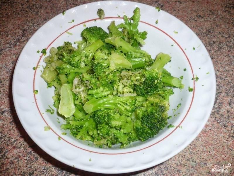 Биточки из брокколи - пошаговый рецепт