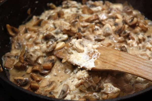 Соус грибной со сметаной - пошаговый рецепт