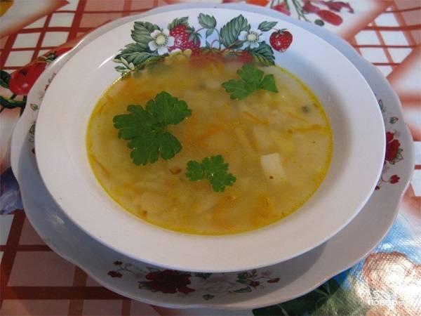 Постный суп с рисом - пошаговый рецепт