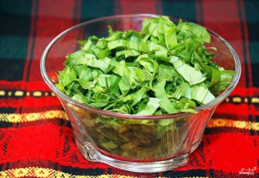Зеленый борщ со щавелем и яйцом - пошаговый рецепт