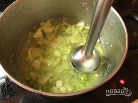 Сливочный соевый соус с брокколи - пошаговый рецепт