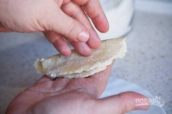 Творожное печенье - Уголки - пошаговый рецепт с фото на