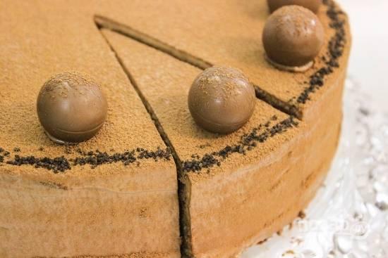 Пышный торт