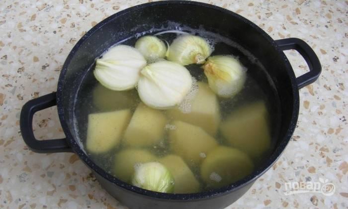 Суп с сыром - Дружба - пошаговый рецепт с фото на