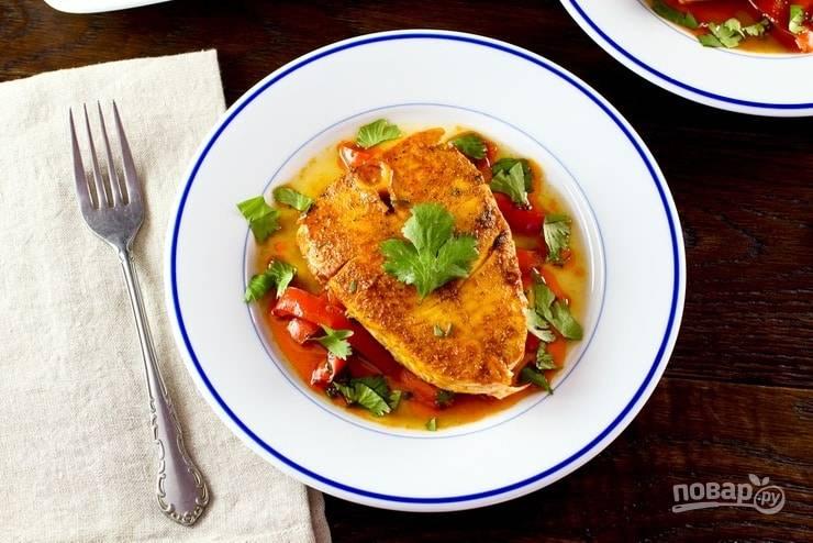 Рыба с соусом по-мароккански - пошаговый рецепт