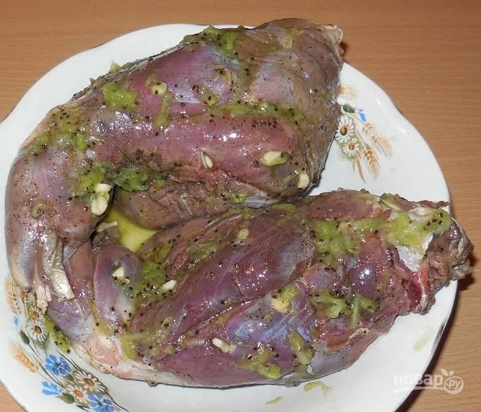 Заяц запеченный в духовке - пошаговый рецепт с фото на
