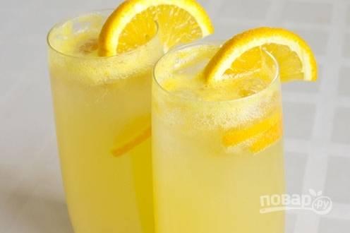 Домашний лимонад из апельсинов