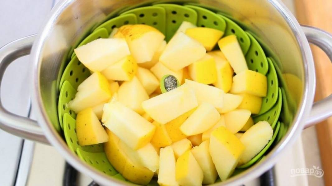 Яблочно-лимонное пюре - пошаговый рецепт