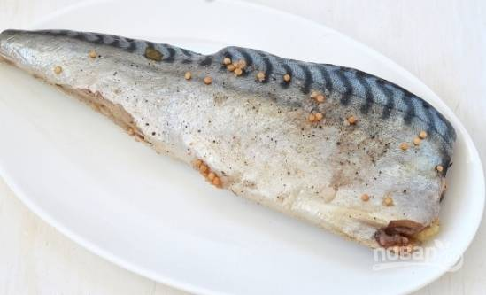 Cоленая скумбрия - пошаговый рецепт