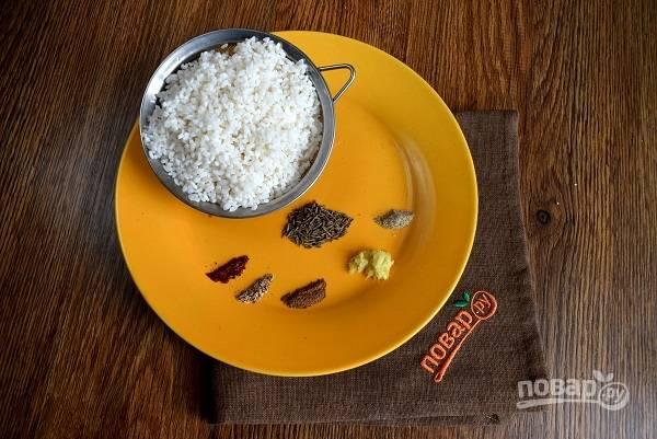 Масала бхат (пряный рис) - пошаговый рецепт с фото на