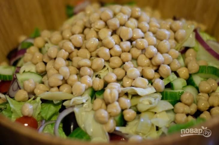 Салат из грудок - пошаговый рецепт