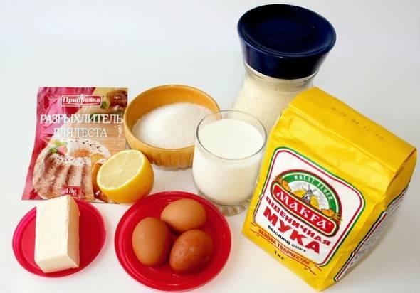 Манник с лимоном - пошаговый рецепт