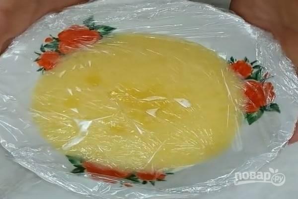 Бисквитный торт - Подарочный - пошаговый рецепт